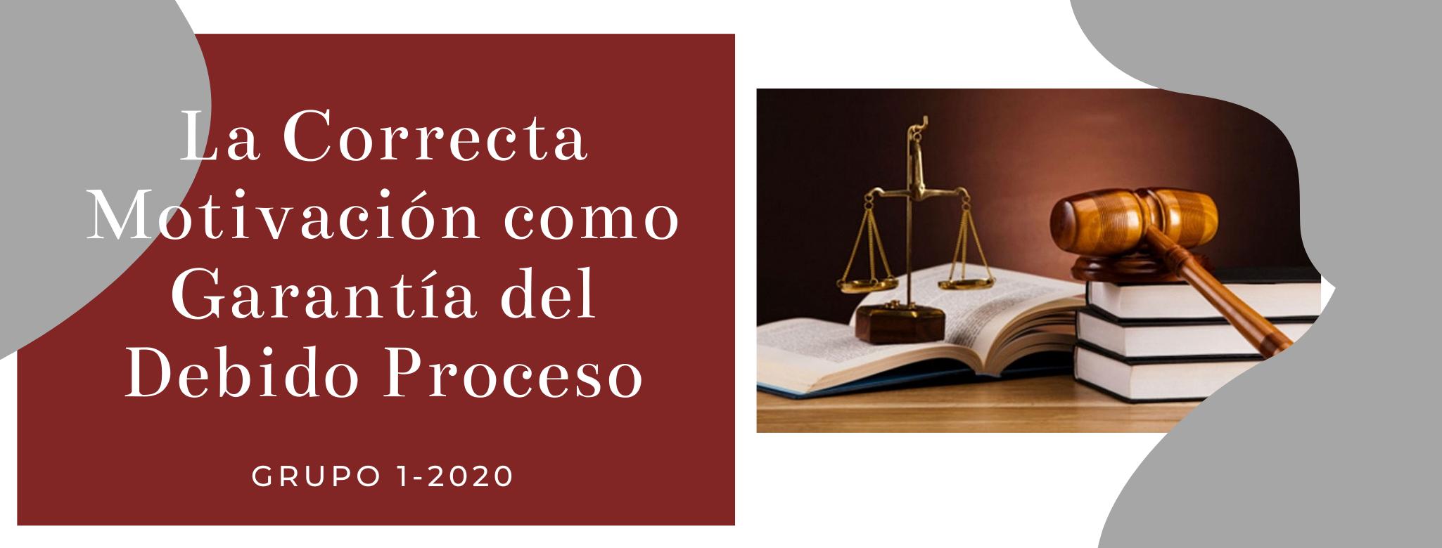 CONST-101-20-01 La Correcta Motivación como Garantía del Debido Proceso