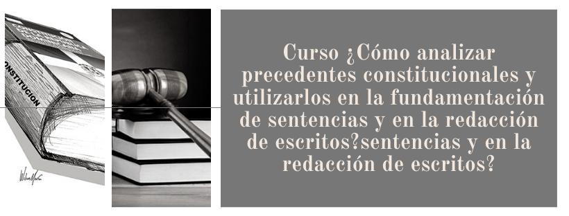 CONST-096-21-01 ¿Cómo analizar precedentes constitucionales y utilizarlos en la fundamentación de sentencias y en la redacción de escritos?
