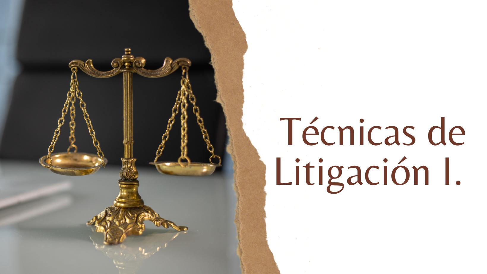 EDP-303-21-01 Curso Técnicas de Litigación I