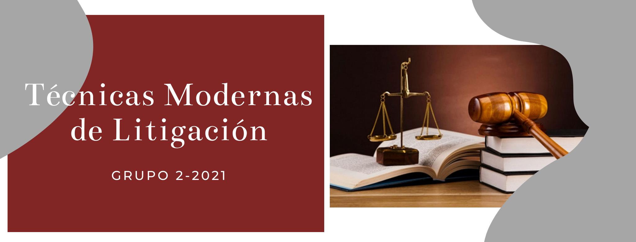 PEN-071-21-02 Taller Técnicas Modernas de Litigación (Pasantes de Proyectos)