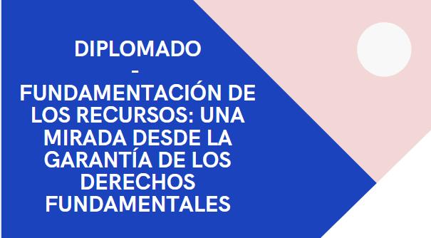 Diplomado Fundamentación de los Recursos: una mirada desde la garantía de los Derechos Fundamentales